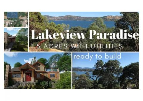 Lakeview Paradise - 1.5 acres w/ utilities - Owner Carry