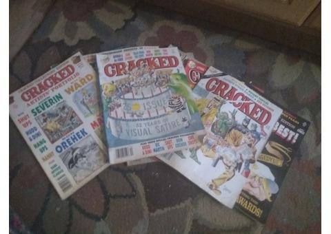 Cracked magazine collection